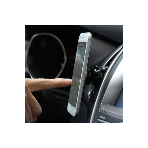 "Ovegna S08: 360 Degree Rotation Magnetic Phone Holder for iPhone Samsung Motorola Huawei ASUS HTC Nexus GPS 7"" Tablets"