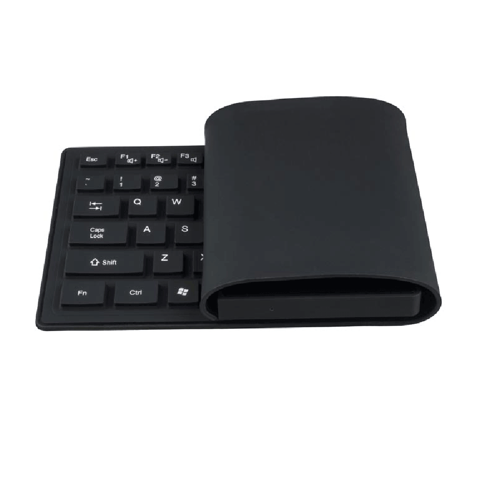 Original Ovegna K8 Desktop Mini PC Computer Intel Z8300 Quad Core 4G 64GB 2.4GHz-5.8GHz, Silicone Keyboard QWERTY, Wi-Fi, Bluetooth, USB3.0, TF Card Slot, DC IN