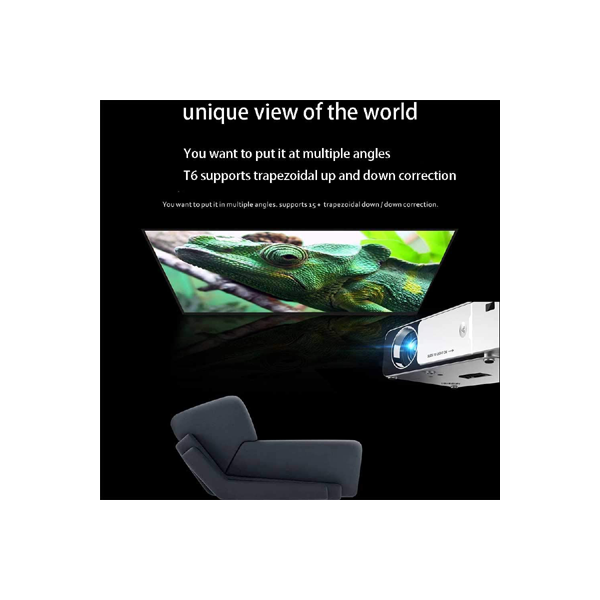 Projector Ovegna T6 Android controls smart portable office WiFi projector mini mobile phone projector