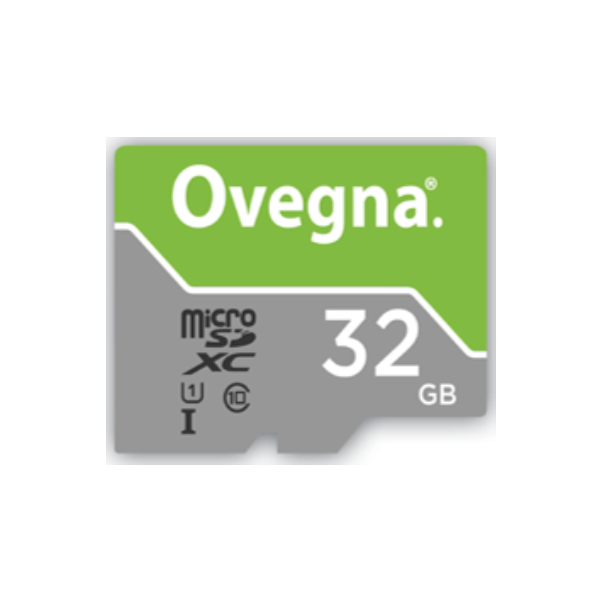 Ovegna MicroSDXC UHS-I Ultra Memory Card - Read Speed Up To 100MB/S, Class 10, U1, with Adapter and Case (32 GB)